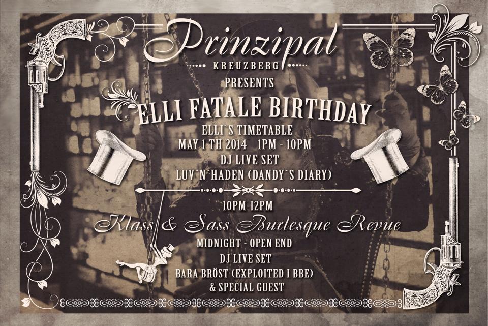 Elli Fatale Birthday