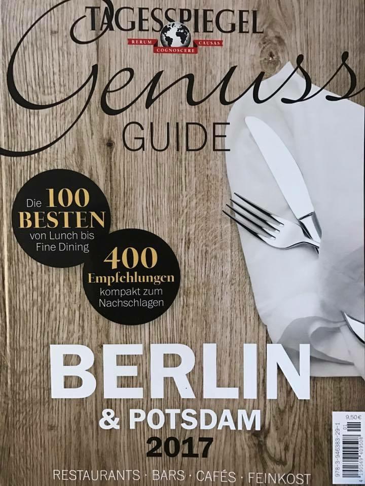 Tagesspiegel Genuss Guide - Berlin & Potsdam 2017