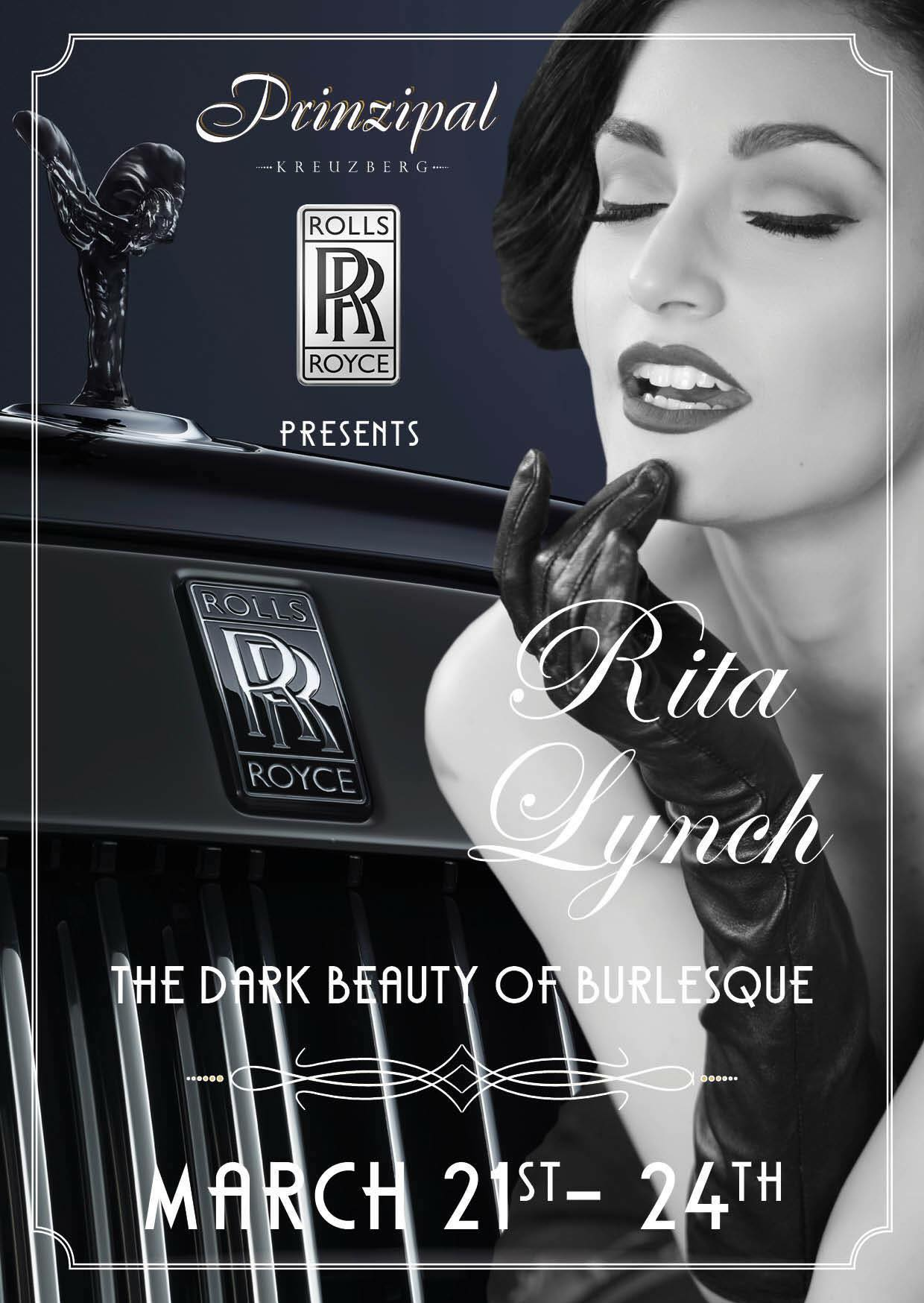 Rita Lynch - The Dark Beauty Of Burlesque