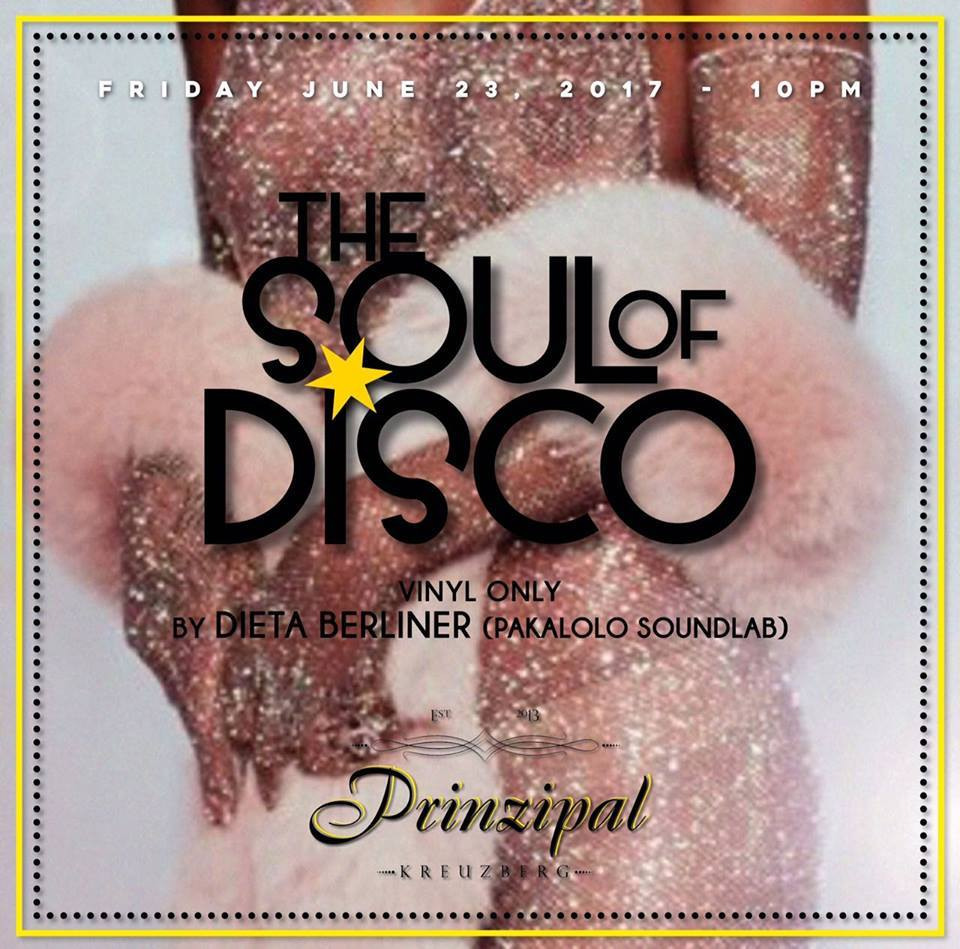 The Soul Of Disco by Dieta Berliner