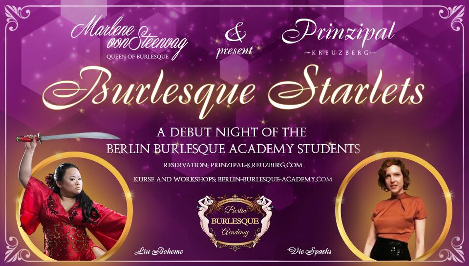 Burlesque Starlets a Debut Night of the Berlin Academy Students