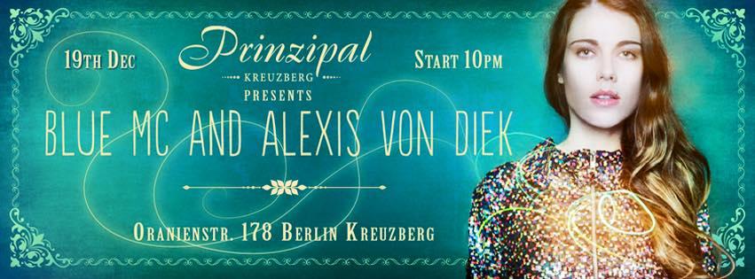 Blue Mc And Alexis Von Diek