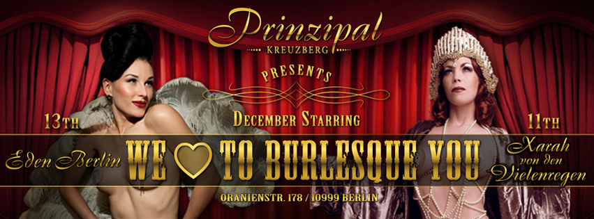 We Love To Burlesque You
