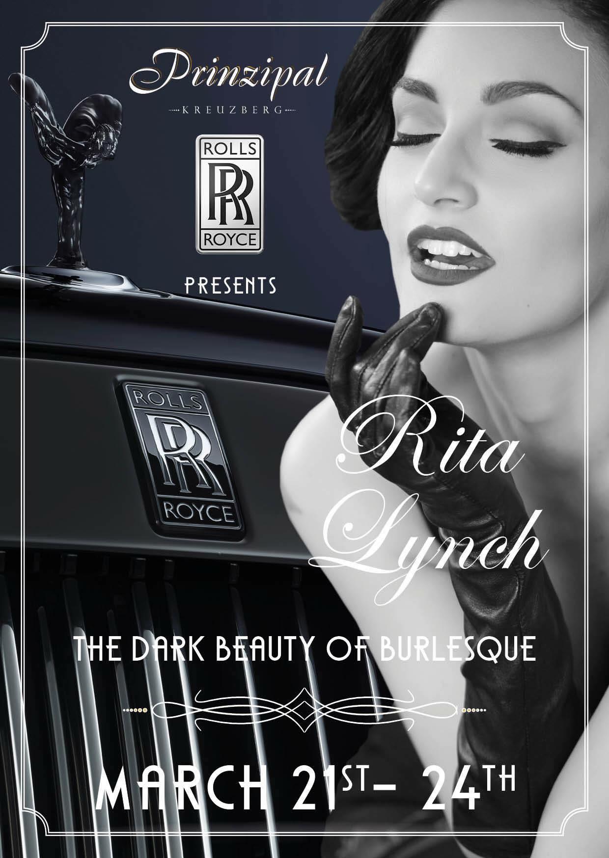 Rita Lynch - The Dark Beauty Of Burlesque