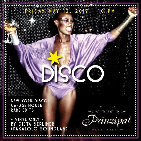 Friday Night Disco by Dieta Berliner