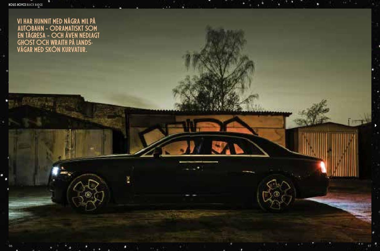 Rolls Royce Black Badge - Berlin By Night