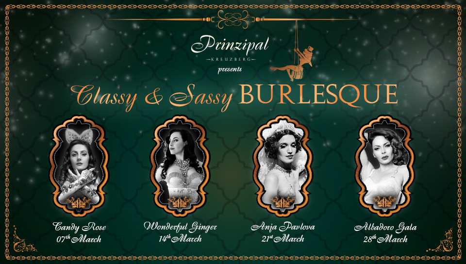 Classy And Sassy Thursday Burlesque