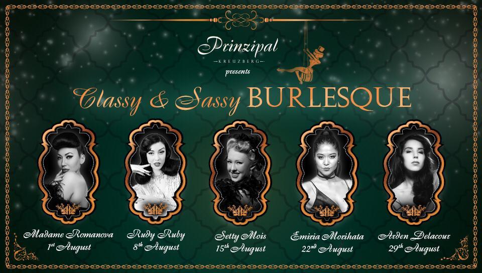 Classy And Sassy Thursday Burlesque